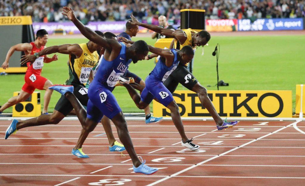 100米短跑技巧, 短跑技巧